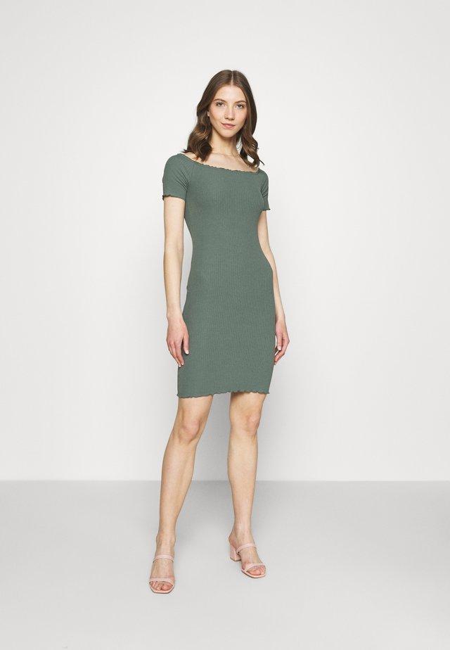 Shift dress - green