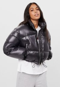 Bershka - Winter jacket - black - 0