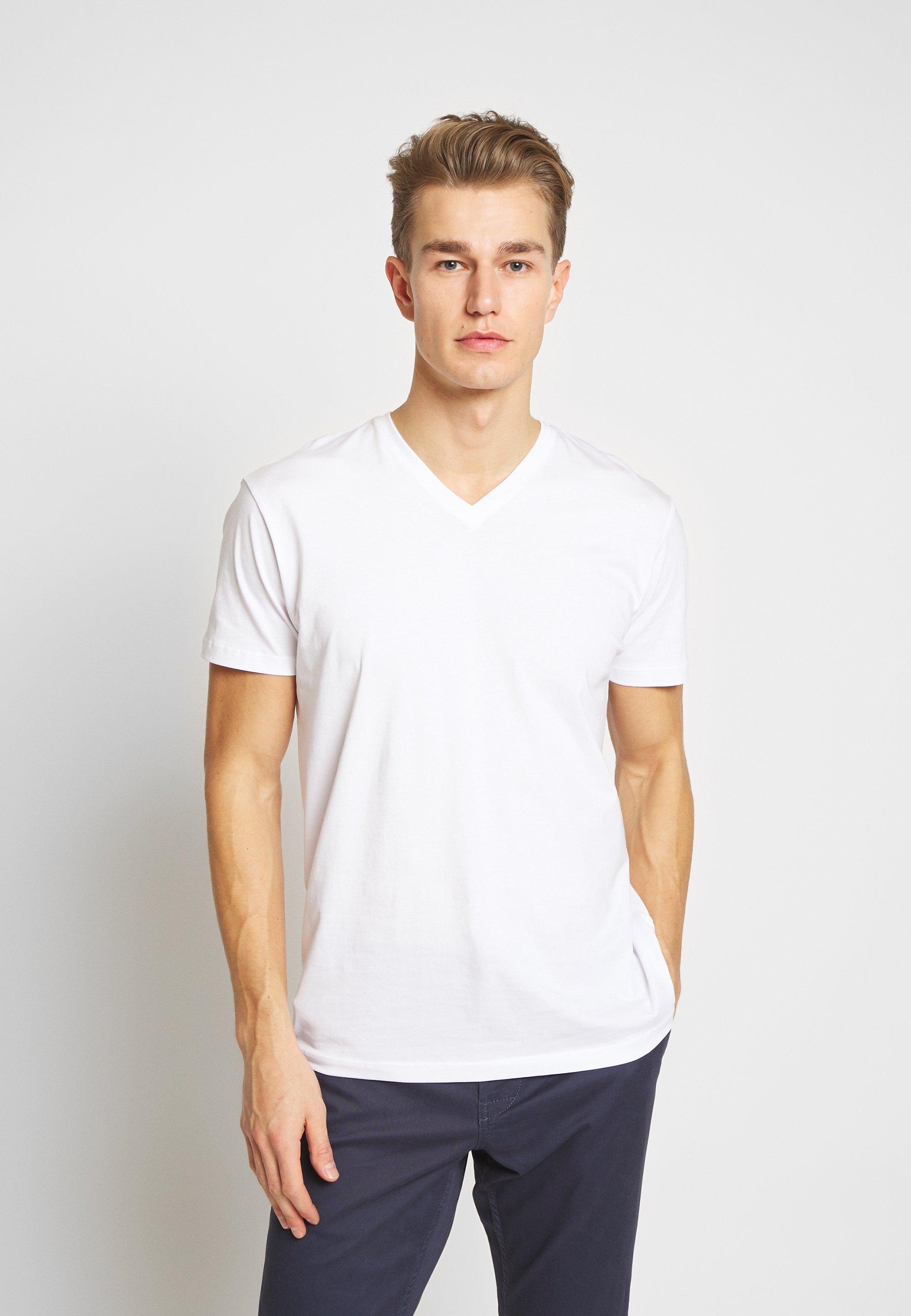 Esprit 2 PACK - Basic T-shirt - white U1s3o