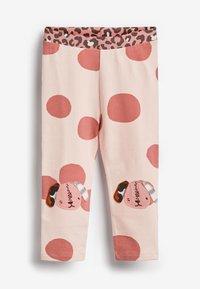 Next - 3PACK - Leggings - Trousers - pink - 1