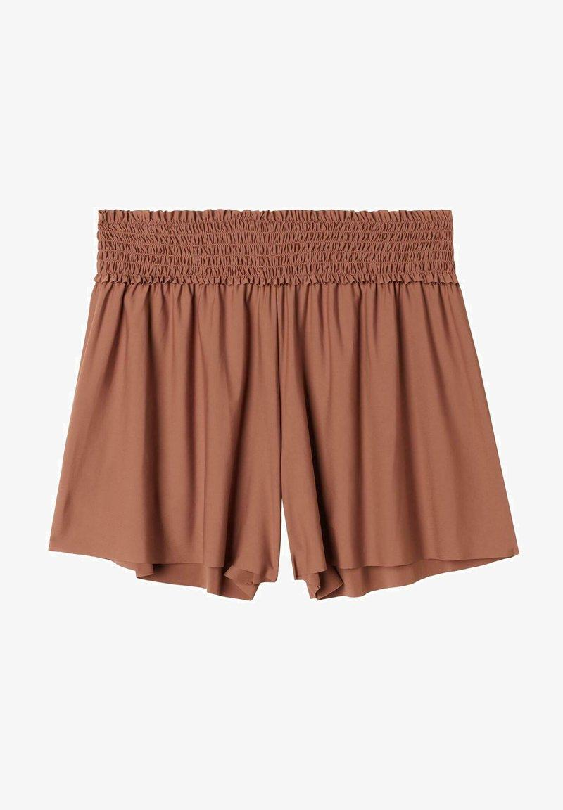 Calzedonia - LASERGESCHNITTENE  - Bikini bottoms - indian brown