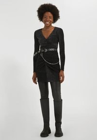YOUNG POETS SOCIETY - YAMILA  - Cocktail dress / Party dress - black glitter - 1