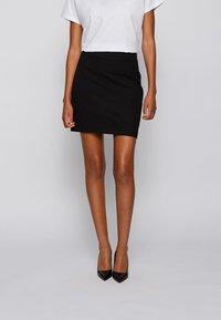 BOSS - Mini skirt - black - 0