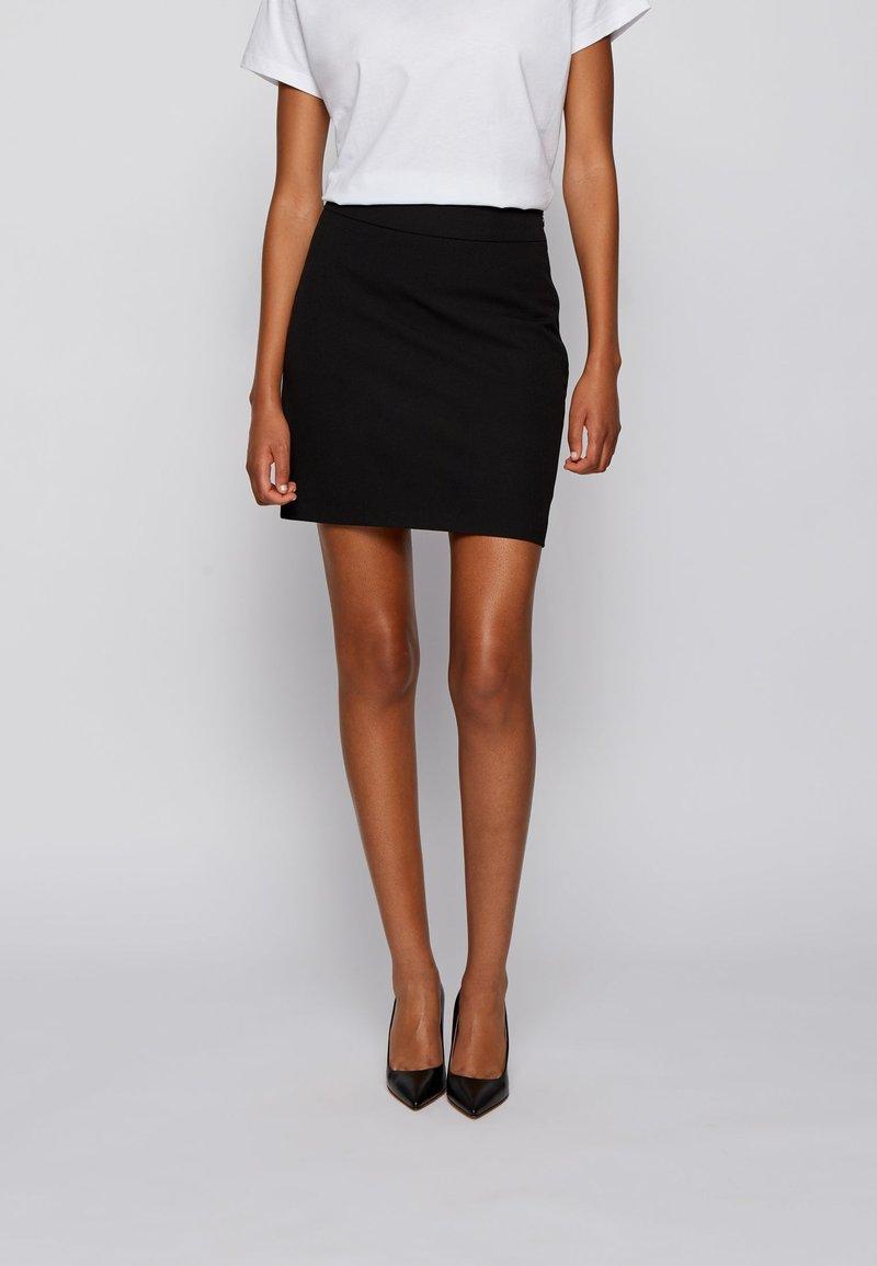BOSS - Mini skirt - black
