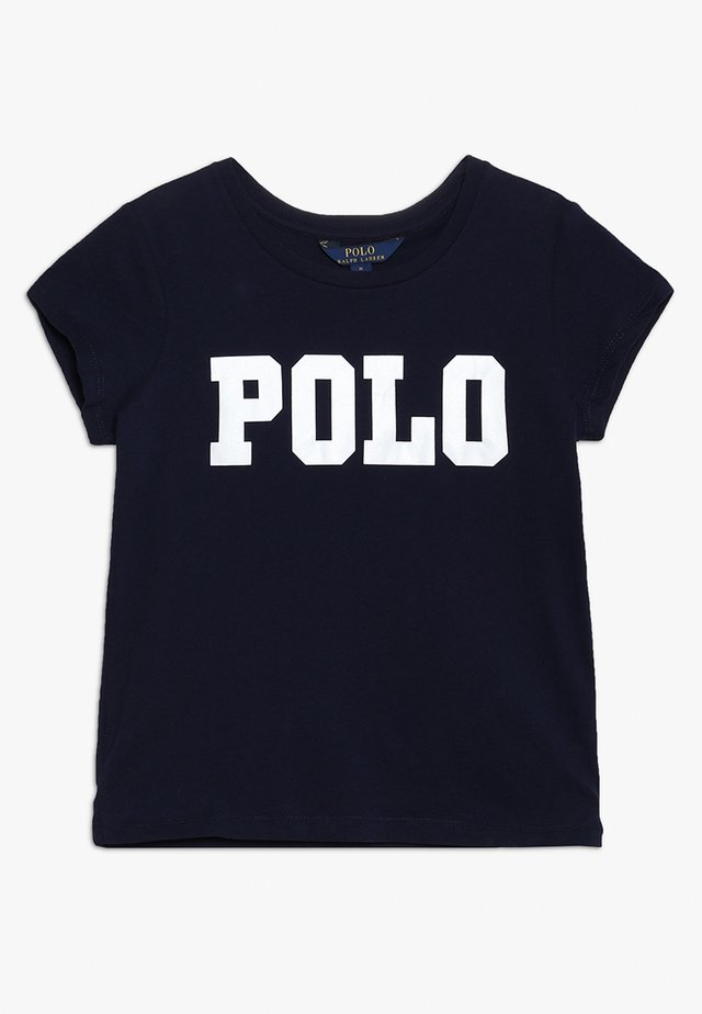 ENZYME TEE - Print T-shirt - french navy