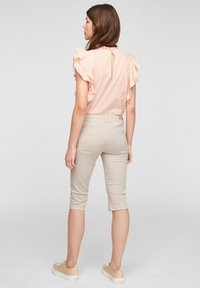 QS by s.Oliver - Denim shorts - beige - 2