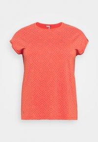 Ragwear Plus - DIONE - Triko spotiskem - chili red - 0