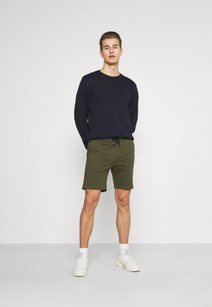 2 PACK - Shorts - black/olive