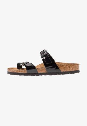 MAYARI - T-bar sandals - schwarz