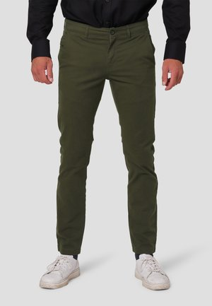 ROBERT - Chinos - forest green