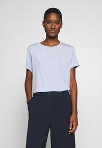 Opus - SUPRO - T-shirts - morning blue - 1