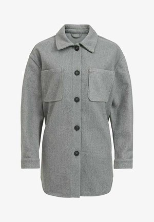 Short coat - medium grey melange