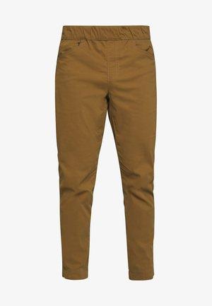 CIRCUIT PANTS - Kalhoty - dark curry
