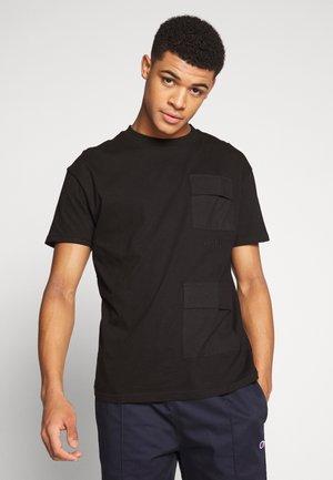 PARKER TEE - Print T-shirt - black