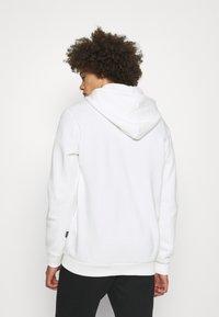 Only & Sons - ONSCERES LIFE ZIP HOODIE - Zip-up sweatshirt - bright white - 2