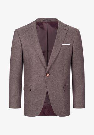 SAKKO SLIM FIT  - Suit jacket - weinrot