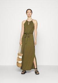 Even&Odd - Maxi dress - green - 1