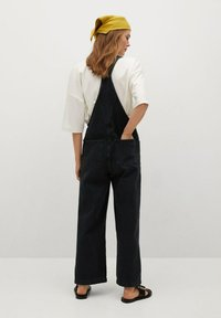 Mango - Dungarees - black denim - 1