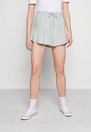Shorts - mint gingham