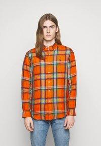 Polo Ralph Lauren - PLAID - Shirt - orange/blue - 0