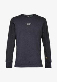 G-Star - MOTAC LOGO - Långärmad tröja - mazarine blue - 4