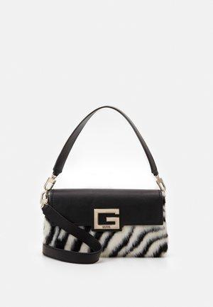 BRIGHTSIDE SHOULDER BAG - Handbag - zebra
