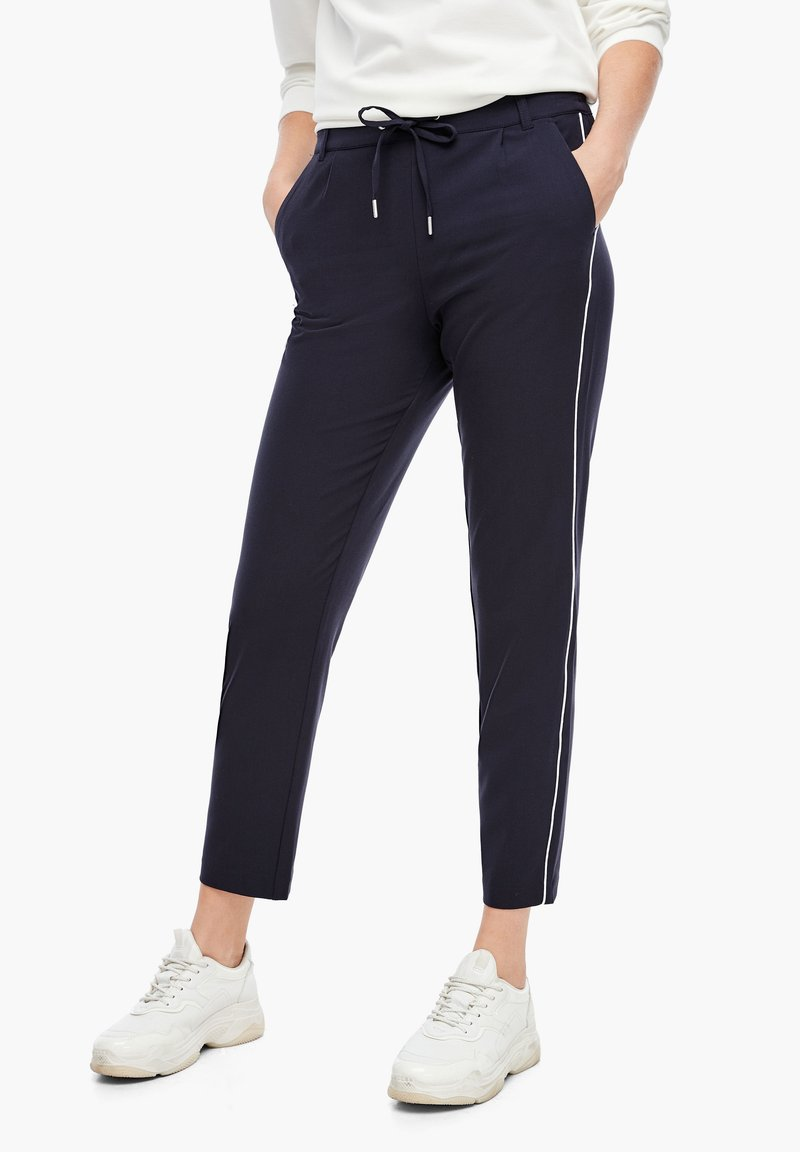 s.Oliver - Tracksuit bottoms - dark blue