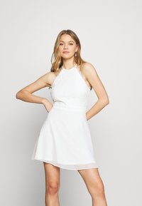 Nly by Nelly - ADORABLE SPORTSCUT DRESS - Day dress - white - 0