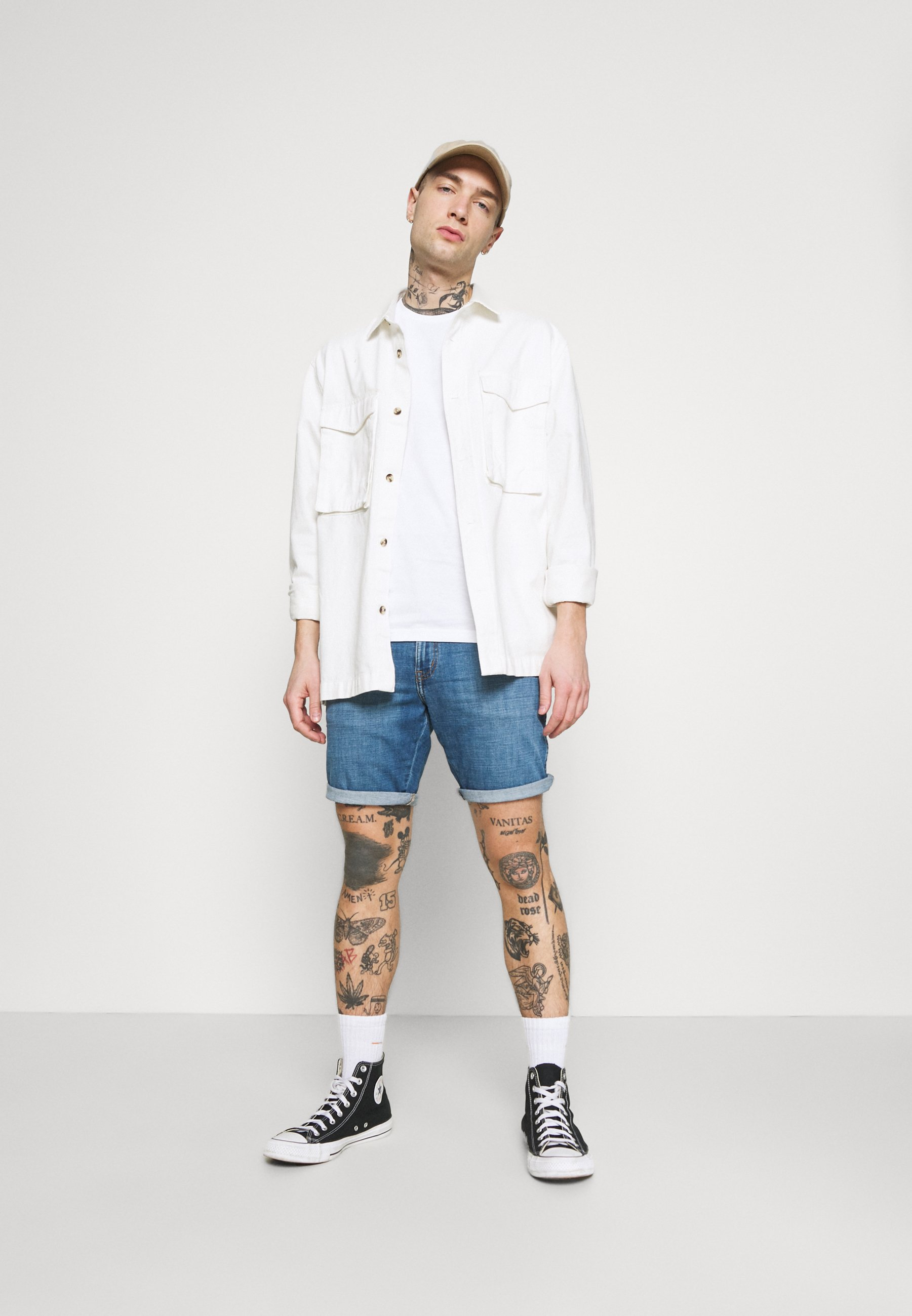 Herrer TWIN CREW 2 PACK - T-shirts basic