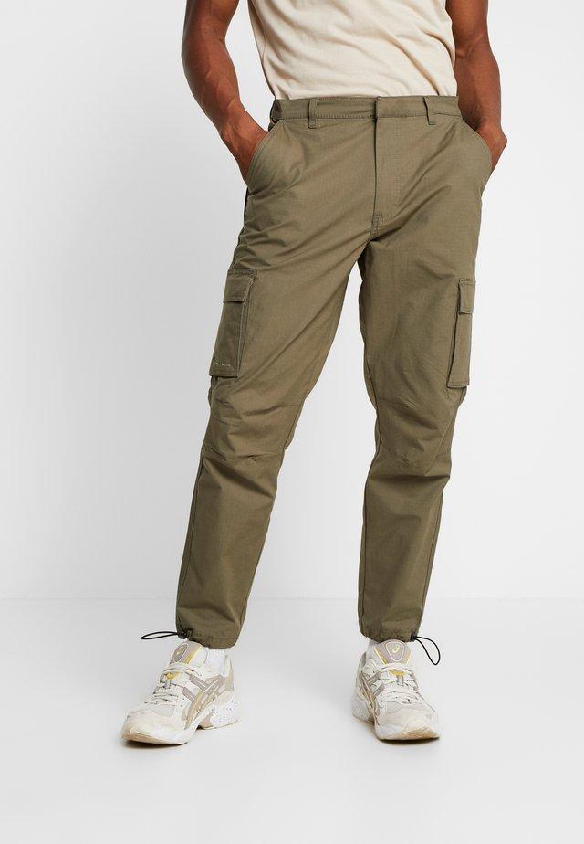 RIPSTOP UTILITY TROUSER - Cargo trousers - khaki