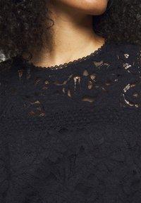 Lauren Ralph Lauren - FLORAL STRIPED DRESS - Shift dress - lighthouse navy - 5