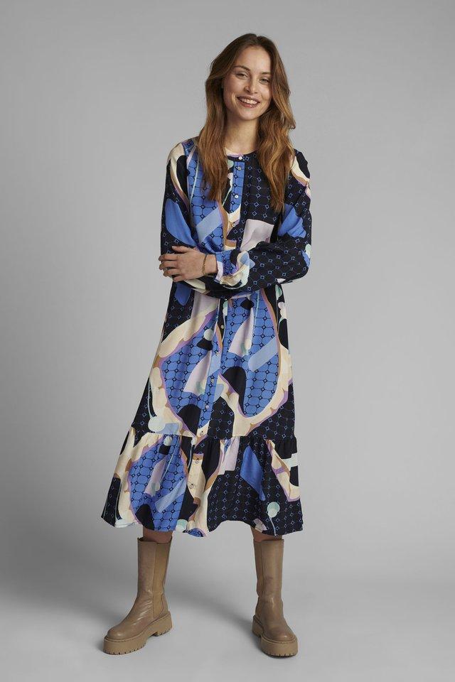 NUCASEY - Maxi dress - dark sapphire