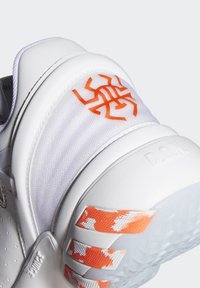 adidas Performance - D.O.N. ISSUE 2 UNISEX - Basketball shoes - footwear white/core white/solar red - 5