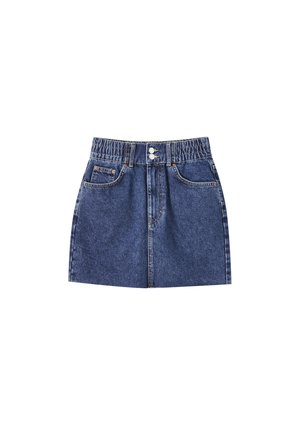 Denim skirt - dark blue