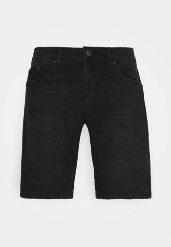 PARIS - Jeansshort - washed black