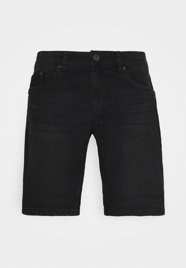 PARIS - Jeans Shorts - washed black