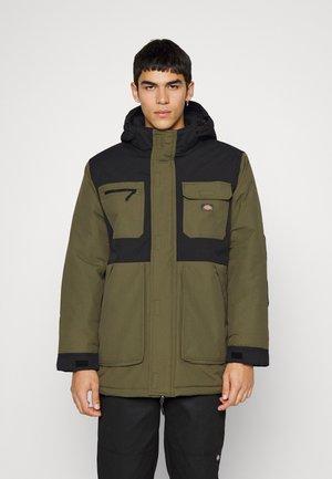 GLACIER VIEW - Winter coat - military green