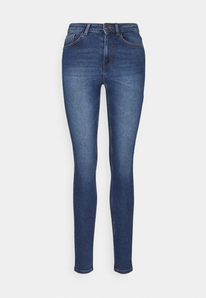 PCMIDFIVE FLEX  - Jeansy Skinny Fit - medium blue
