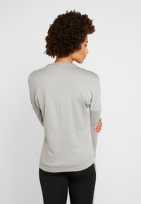 adidas Performance - CLIMALITE RUNNING LONG SLEEVE PULLOVER - Sudadera - grey