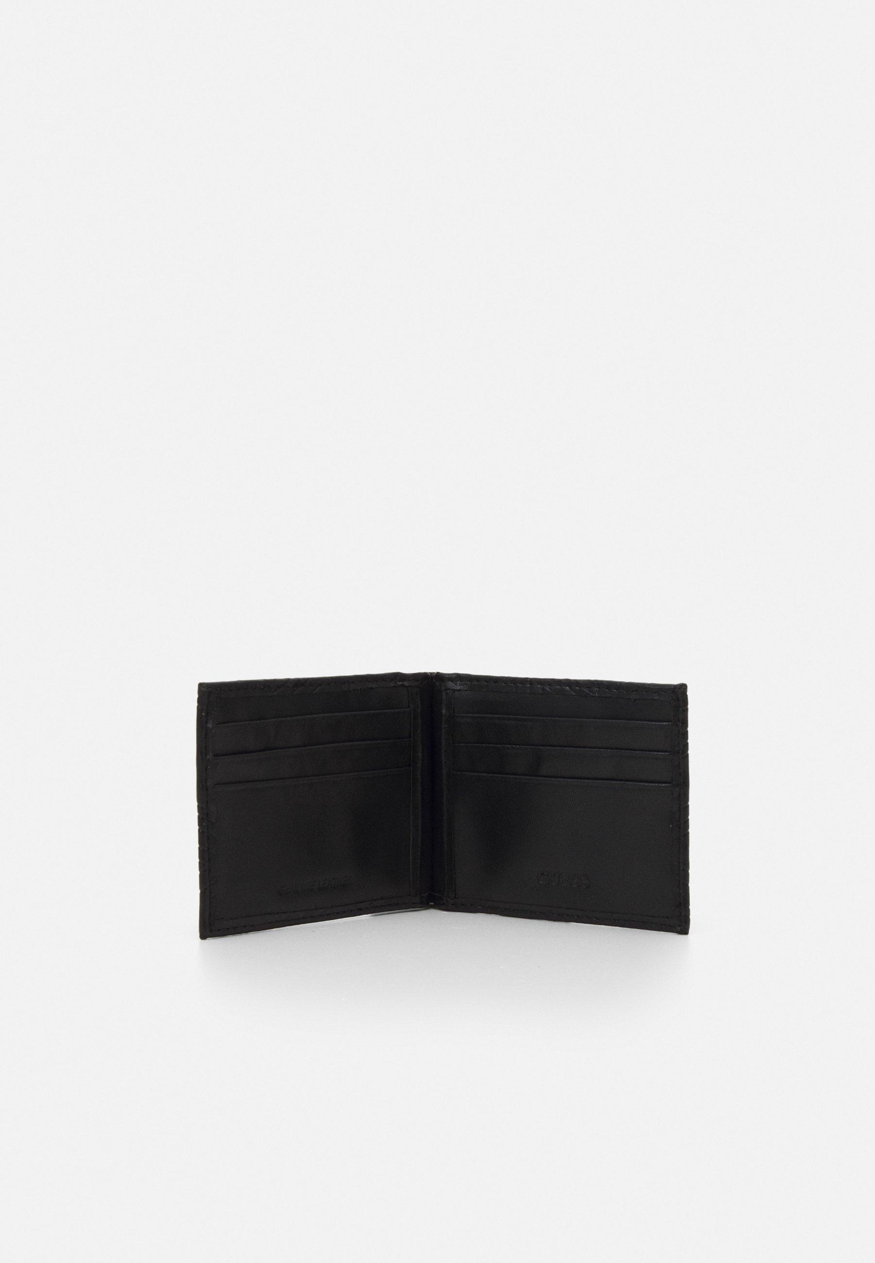 Guess BALDO MONEY CLIP - Geldbörse - black/schwarz - Herrentaschen SH1tZ
