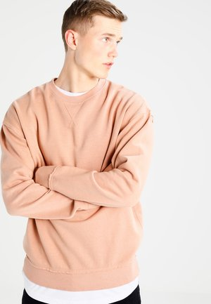 OPEN EDGE CREW - Sweatshirt - amber