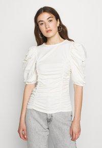 ONLY - ONLEMMA - Print T-shirt - cloud dancer - 0