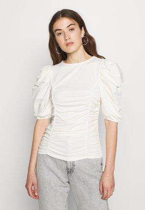 ONLEMMA - T-shirt con stampa - cloud dancer