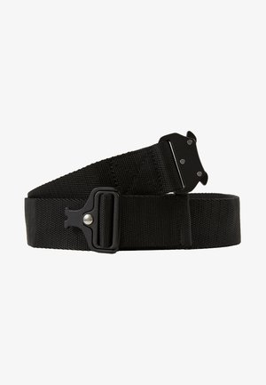 WING BUCKLE BELT - Pásek - black
