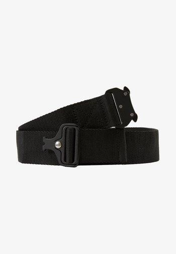 WING BUCKLE BELT - Belt - black