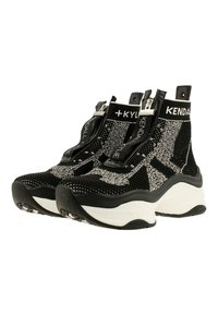 KENDALL + KYLIE - WILLAMINA - Sneakers hoog - black-white - 2