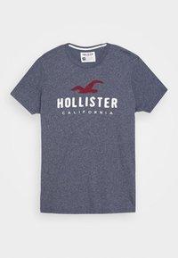 Hollister Co. - CORE  - Triko spotiskem - blue heaven tonal - 5