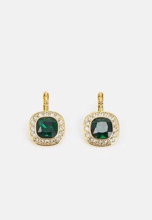 CELIN - Oorbellen - gold-coloured/emerald