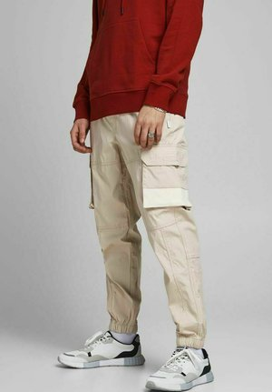 GORDON ROSS - Reisitaskuhousut - pure cashmere