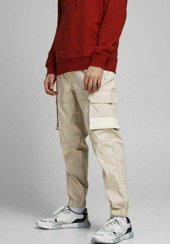 GORDON ROSS - Cargo trousers - pure cashmere